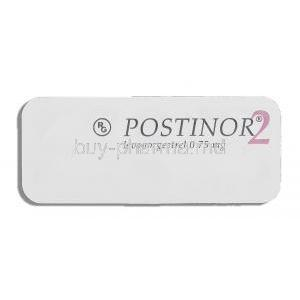 Postinor 2, Levonorgestrel 0.75 mg packaging