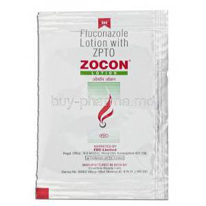 Zocon, Generic Diflucan,  Fluconazole 30 Ml Lotion (FDC) Box