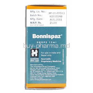 Bonnispaz Relieves Colic Drops Manufacturer