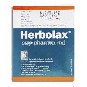 Herbolax  for Chronic Constipation Capsule Manufacturer