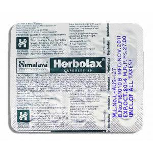 Herbolax  for Chronic Constipation Capsule Blister