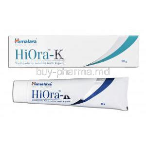 HiOra-K for sensitive teeth & gums Toothpaste
