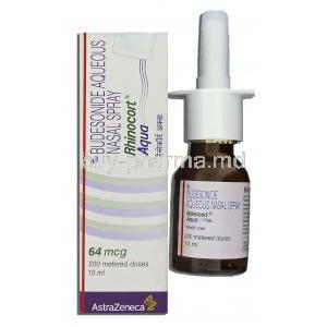 Rhinocort Aqua Nasal Spray, Budesonide Aqueous