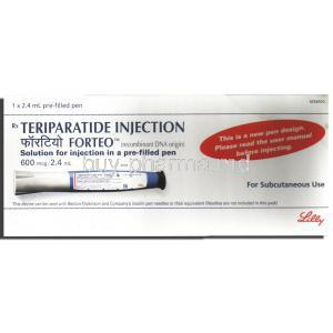 Forteo, Teriparatide Injectoin