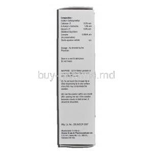 Rewet-Plus, 10ml, Box description