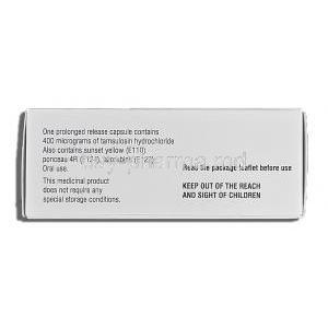 Contiflo XL, Tamsulosin HCL 400mg Box Description