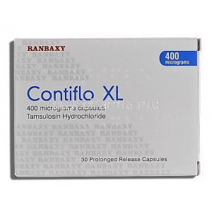 Contiflo XL, Tamsulosin HCL 400mg Box