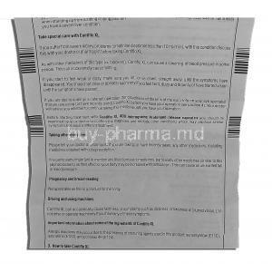 Contiflo XL, Tamsulosin HCL 400mg Instruction (2)