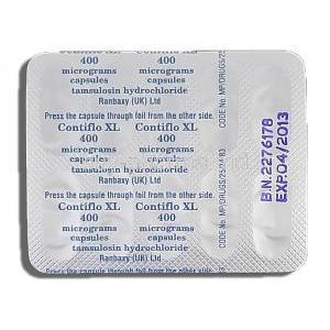 Contiflo XL, Tamsulosin HCL 400mg Strip Description