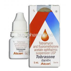Fluorometholone/ Tobramycin Ophthalmic Suspension