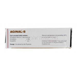 Amlip 5 mg logo