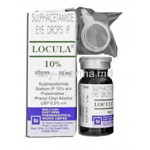 Sulphacetamide Sodium Eye Drops