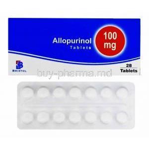 allopurinol 100 mg tablet