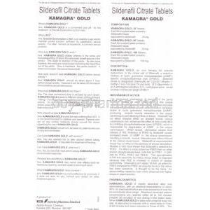 Kamagra, Sildenafil Citrate 100mg Patient information sheet 1