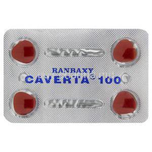 Caverta,  Sildenafil Citrate 100 mg