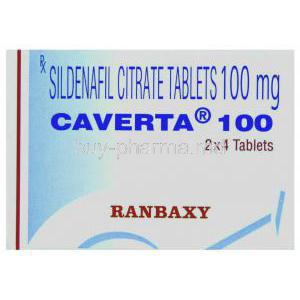 Caverta  Sildenafil Citrate box