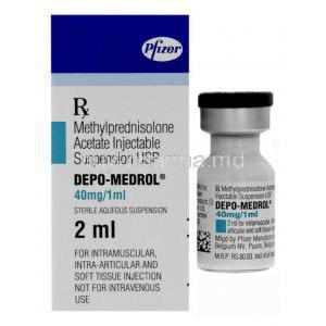 Depo-Medrol, Methylprednisolone Acetate Injection