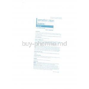 Permite , Permethrin Cream patient information sheet