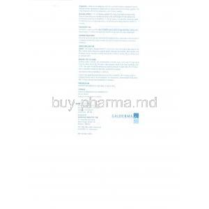Permite , Permethrin  Cream patient information sheet 2