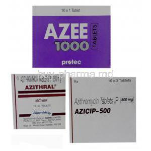 Generic Zithromax, Azithromycin 250 mg and 500 mg tablet