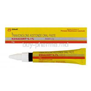 Kenacort 0.1% 5gm Oral Paste, Generic Nasacort Ointment, Triamcinolone Acetonide 0.1%