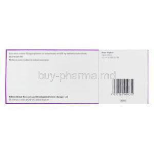 Competact, Pioglitazone 15mg and Metformin Hydrochloride 850mg Box Information