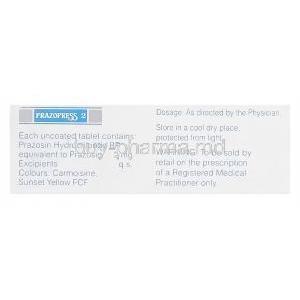 Prazopress 1 mg quad
