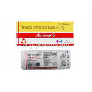 Aricep, Donepezil