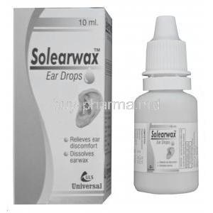 Solearwax Ear Wax Dissolvent Ear Drops