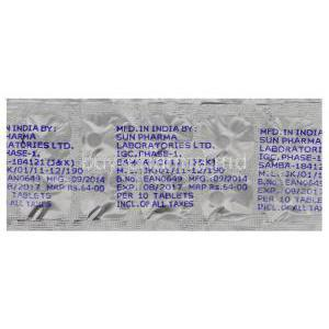 Tropan 2.5, Generic Ditropan, Oxybutynin Chloride 2.5mg Tablet Blister Pack Batch