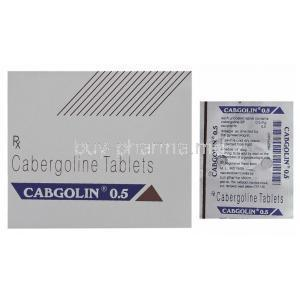 Cabgolin, Cabergoline Tablet
