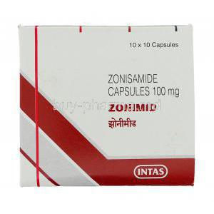 Zonimid, Zonisamide box