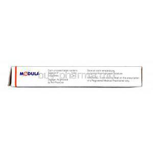 Modula, Tadalafil 5mg Box Information