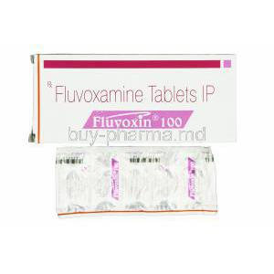 Fluvoxin 100, Generic Luvox, Fluvoxamine Maleate 100mg