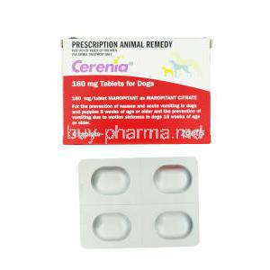 CERENIA, Maropitant Citrate 160mg for Dogs