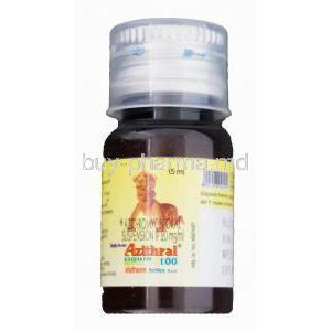 Azithral Liquid 100 15ml, Generic Zithromax, Azithromycin Oral Suspension 20mg per ml Bottle