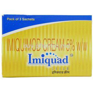 Imiquad, Imiquimod Cream Box