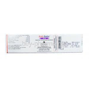 ReliBeta Injection, Recombinant Interferon beta 1a concentrated solution 30mcg per 0.5ml Box Information