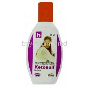 Ketosulf, Generic Nizoral, Ketoconazole Solution BioChem Bottle