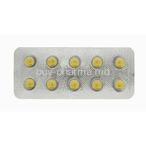Generic Levitra, Filitra 20, Vardenafil 20mg 100tabs, Blister pack front view