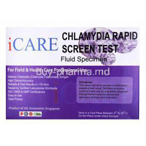 iCare Chlamydia Test Kit