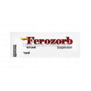 Ferozorb Suspension, Elemental Iron, Folic Acid and Cyanocobalamin