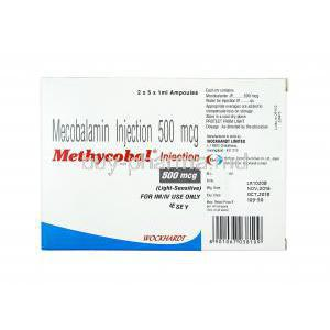 Methycobal Injection, Methylcobalamin