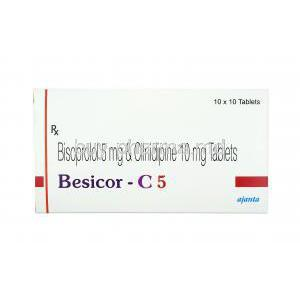 Besicor-C, Cilnidipine/ Bisoprolol