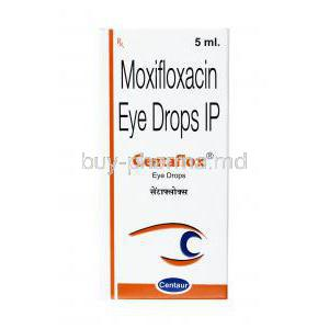 Centaflox Eye Drop, Moxifloxacin
