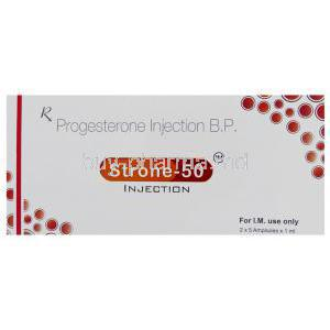 Progesterone Injection box