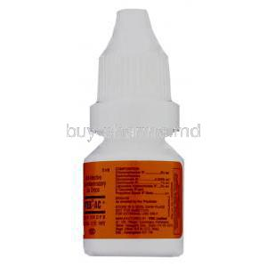 Otek-AC, Chloramphenicol 5%/ Clotrimazole 1%/ Lignocaine HCl 2% Ear Drops bottle information