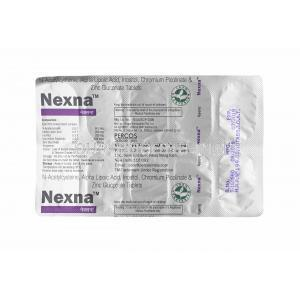Nexna tablets back
