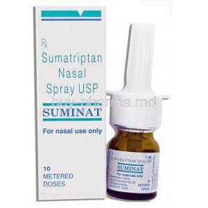Sumatriptan nasal spray