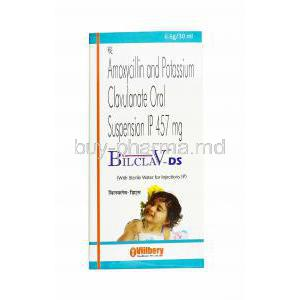 Bilclav DS Oral Suspension, Amoxicillin and Clavulanic Acid
